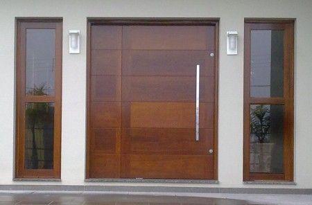 Porta grande de madeira: mais beleza e sofisticação para a entrada da sua casa